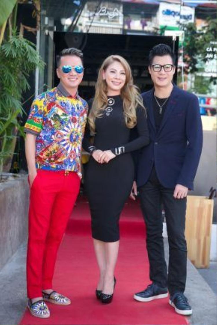 Đàm Vĩnh Hưng và Quang Dũng chính là hai người giúp Thanh Thảo biên tập âm nhạc cho liveshow đặc biệt này.