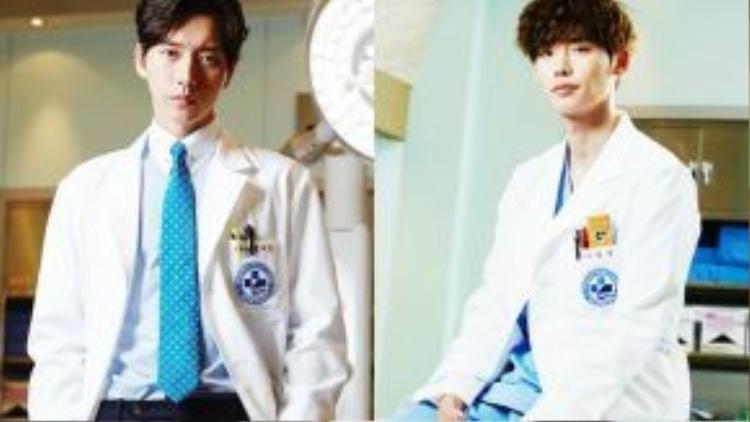 Park Hae Jin chính là người luôn đối đầu với anh trong bệnh viện.