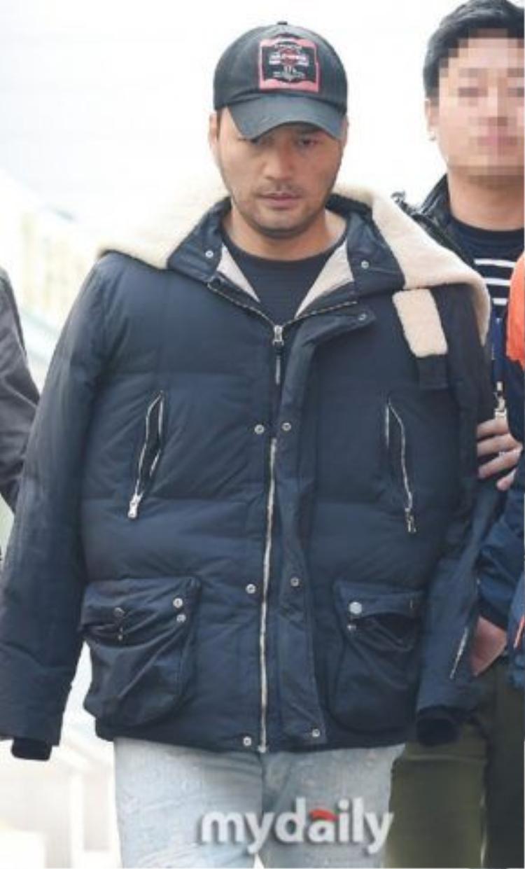 Nam diễn viên bị bắt vì tái nghiện năm 2015.