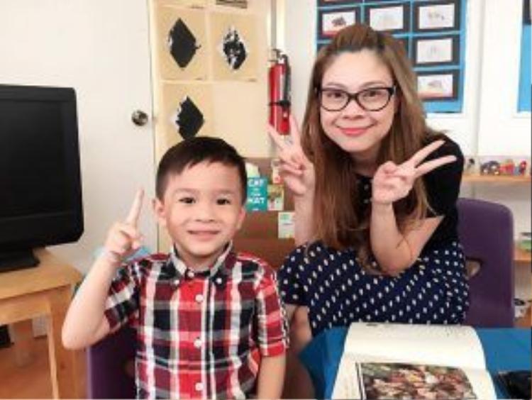 Bé Jacky Minh Trí cũng được mẹ nuôi Thanh Thảo chăm sóc đầy đủ.