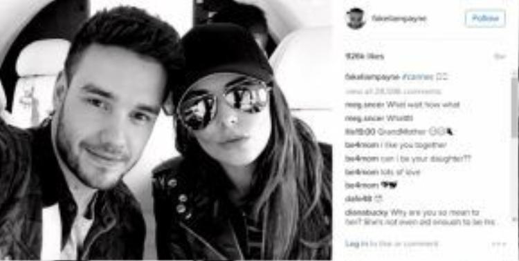 """Dạo gần đây, Liam khá """"siêng năng"""" ở bên cô bạn gái Cheryl Cole."""