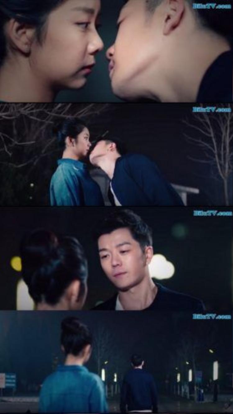 Đến cả nụ hôn duy nhất dành cho Lộ Tinh Hà, Cảnh Cảnh cũng tránh né… Thật là một cái kết buồn cho chàng trai si tình Lộ Tinh Hà.