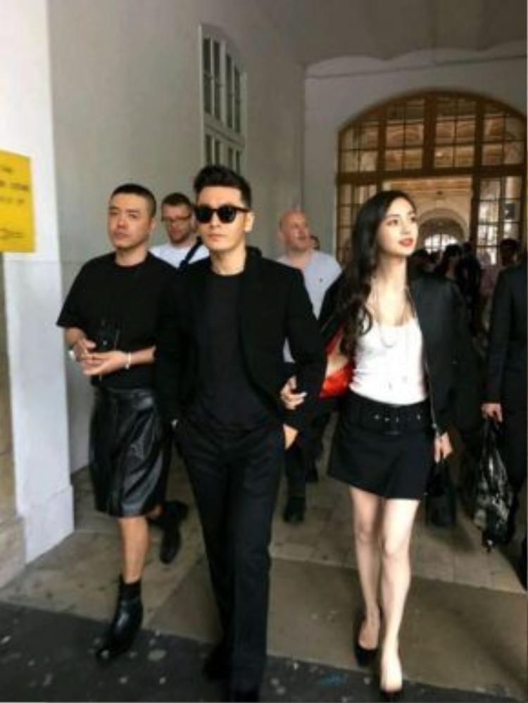 Họ là khách VIP tại một số sự kiện ở Milan kỳ này.