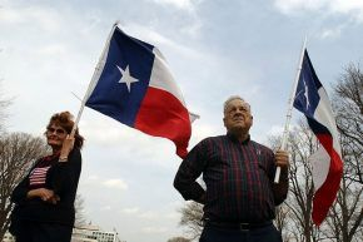Ảnh hưởng từ Brexit, nhiều người dân bang Texas cũng muốn tách khỏi Mỹ. Ảnh: AP