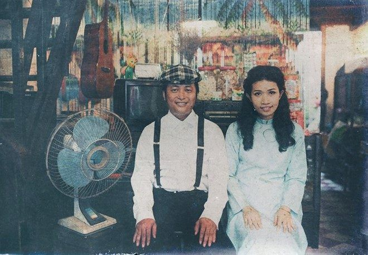 Ảnh cưới hoài cổ tái hiện lại Sài Gòn những năm 80