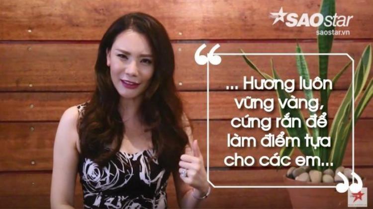 Hồ Quỳnh Hương: Có sợ hãi gì cũng phải cứng rắn, còn làm điểm tựa cho các em