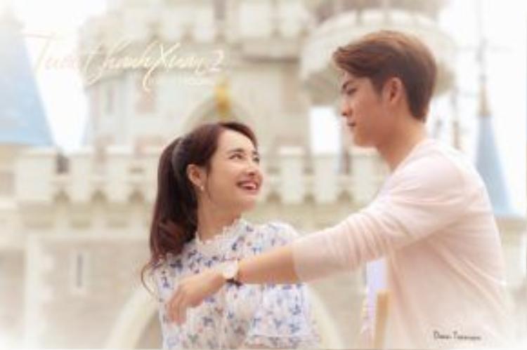 Câu chuyện tình yêu không biên giới giữa cô gái Việt Nam và chàng ca sĩ Hàn Quốc đang thu hút sự chú ý của nhiều khán giả.