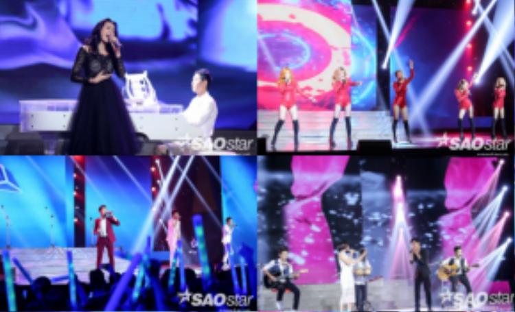 Trương Kiều Diễm, The Wings, S-Girl, Dolphins vẫn luôn giữ vững phong độ sau Liveshow 2.