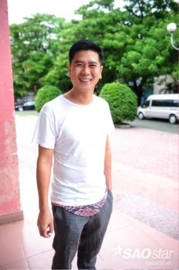 Giám đốc âm nhạc Hồ Hoài Anh.