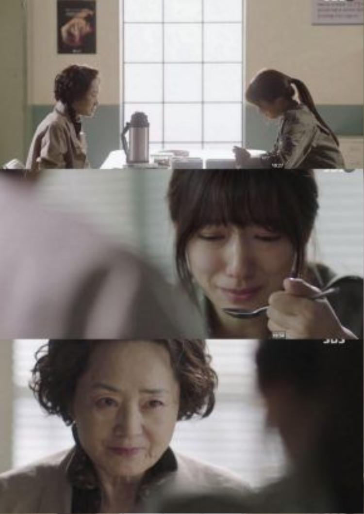 Hye Jung hối hận khi nghe bà kể về bệnh tình của mình, nhưng bà nguyện chết vì bệnh chứ không phẫu thuật điều trị để cứu cô khỏi cảnh lao tù.