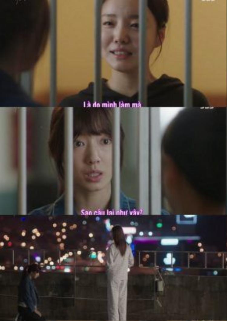 Hye Jung không chấp nhận để Soon He nhận án oan, nên đã cố tìm cách nói chuyện với Seo Woo, thậm chí quỳ xin cô tha thứ nhưng không được.