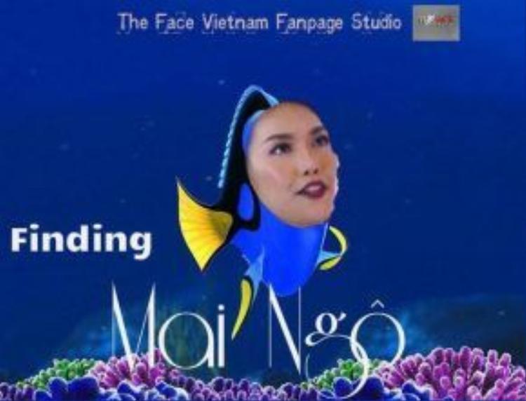 """Lan Khuê được cộng đồng mạng ví như """"cá Dory"""" lơ đãng khi sau buổi tập mới nhận ra không có Quỳnh Mai."""