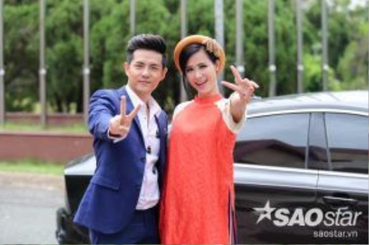 Cặp đôi HLV trẻ trung, đáng yêu của Giọng hát Việt nhí 2016.