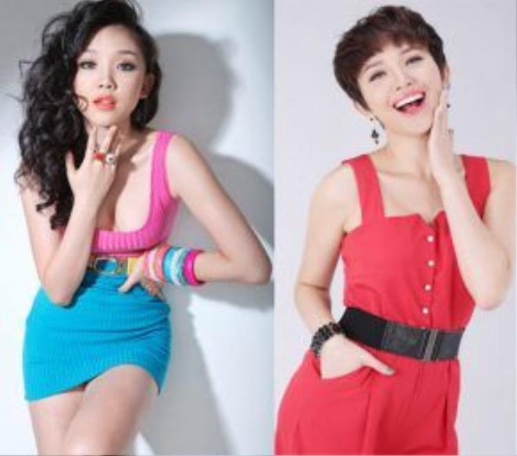 Tóc Tiên là ví dụ điển hình nhất cho sự lên sắc của mỹ nhân Việt khi để tóc ngắn. Mạnh dạn từ bỏ mái tóc mà cô đã kết thân từ khi bước vào showbiz, người đẹp trở nên tươi trẻ và tràn đầy năng lượng mỗi khi xuất hiện trước công chúng.