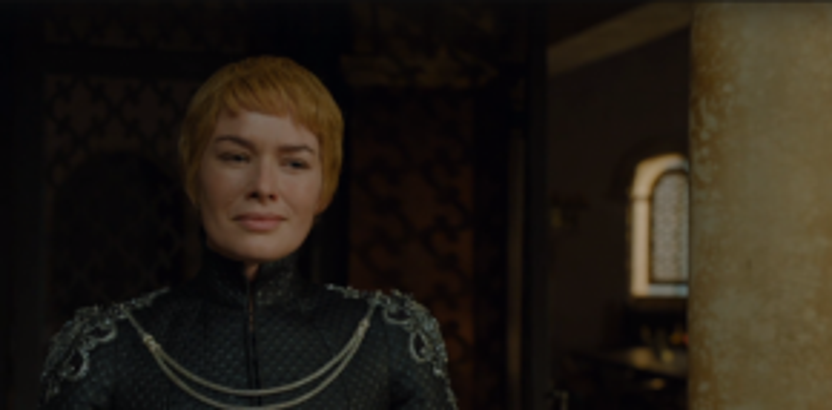 Cersei kiêu ngạo, bất chấp tất cả hiểm nguy trước mặt.