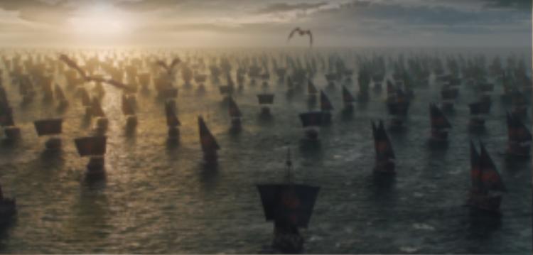 Nữ hoàng Rồng đã chính thức giong buồm ra khơi.