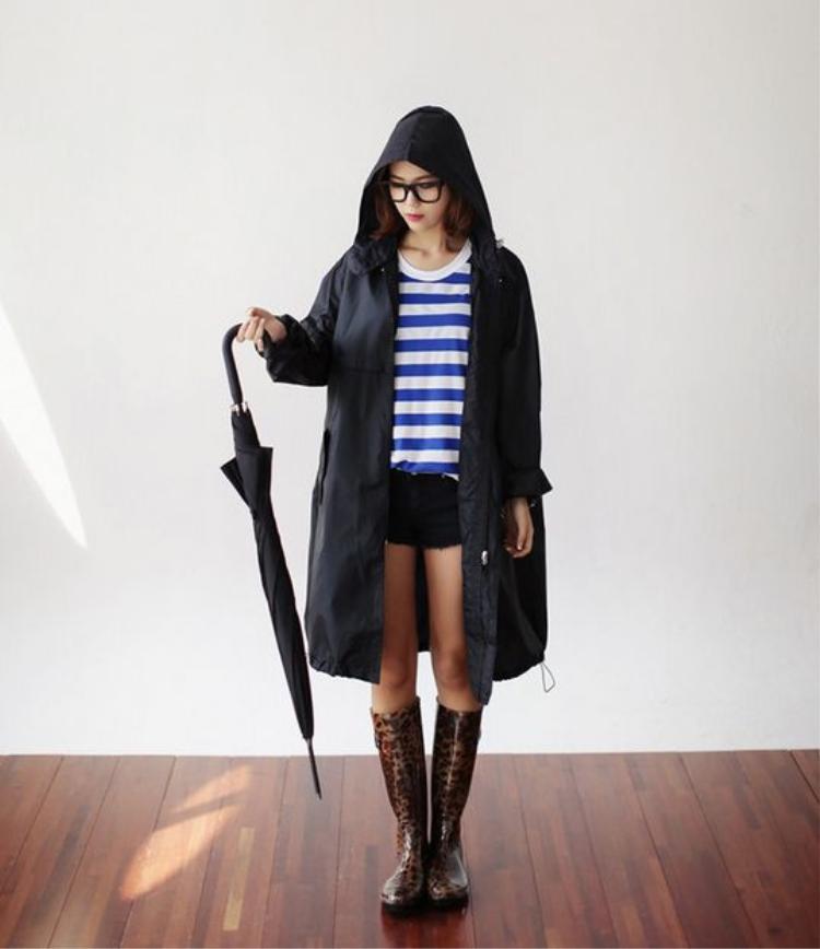 Ai nói trời mưa không cần mặc đẹp?