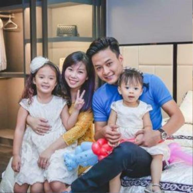 Tổ ấm của nam diễn viên Hồng Đăng khiến nhiều người mơ ước.