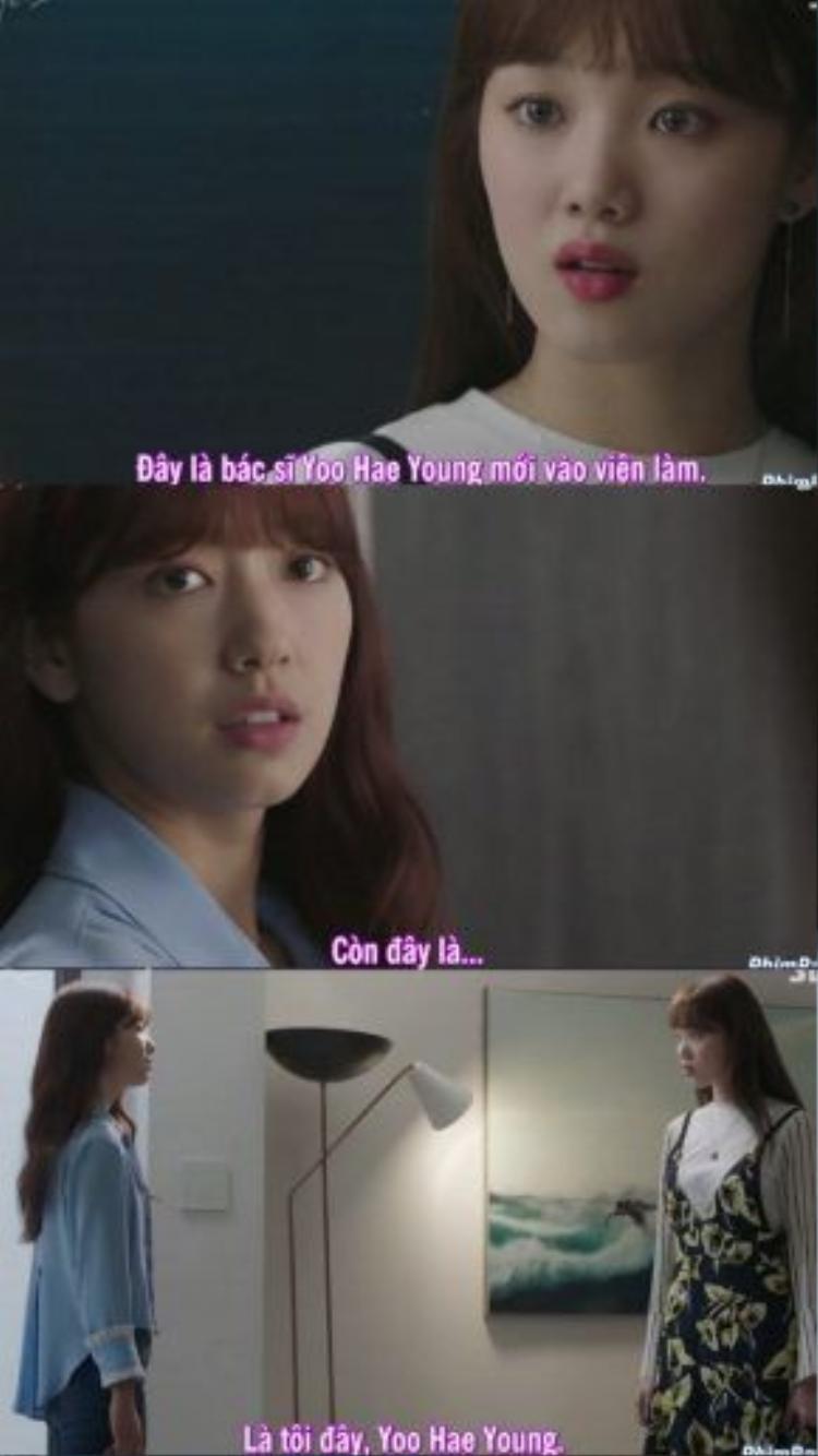 Hye Jung tự tin nói rằng, chính cô đã quyết định chọn vào bệnh viện của bố Ji Woo để cho họ thấy cô đã trưởng thành.