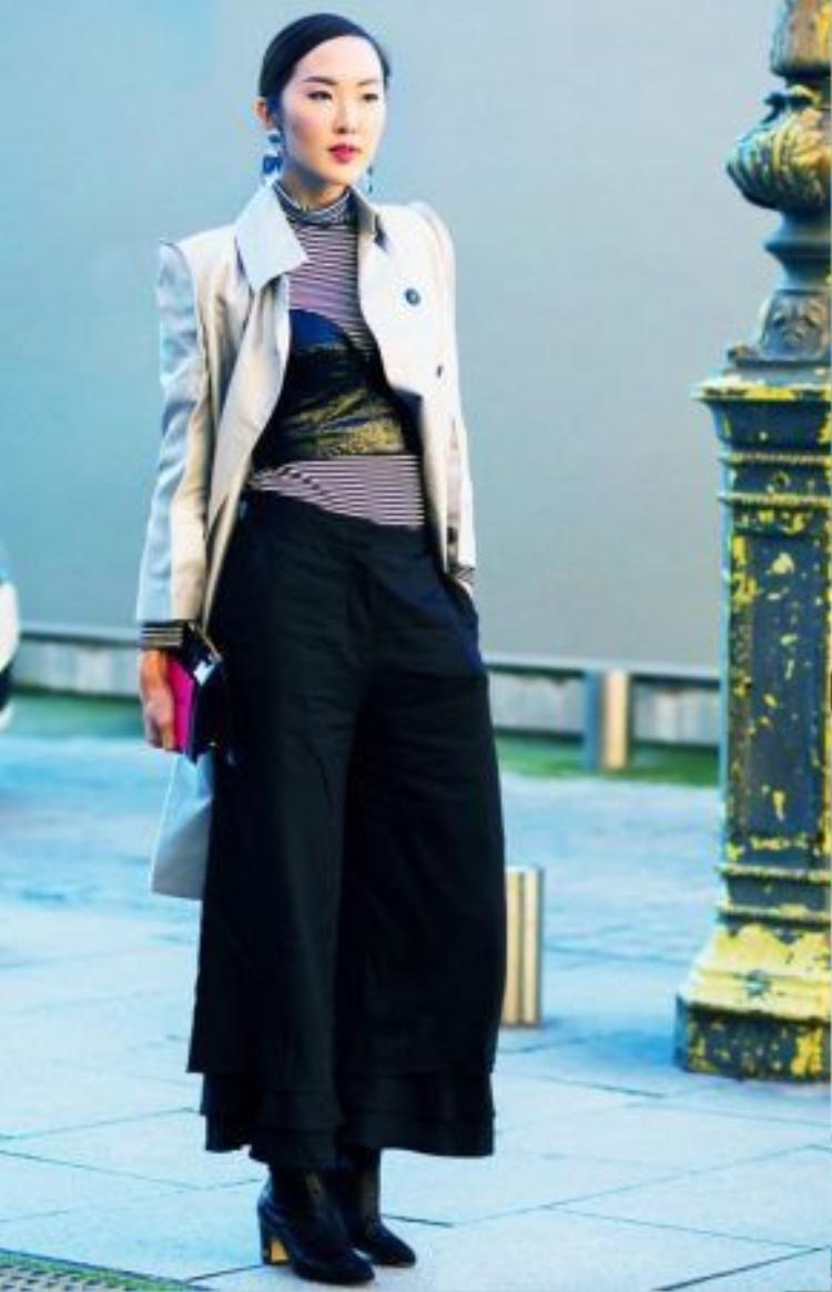 Các fashionista đang lăng xê cách mặc này