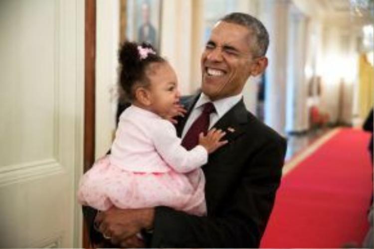 Như một liều thuốc an thần cực mạnh đánh tan mọi áp lực của một vị tổng thống.