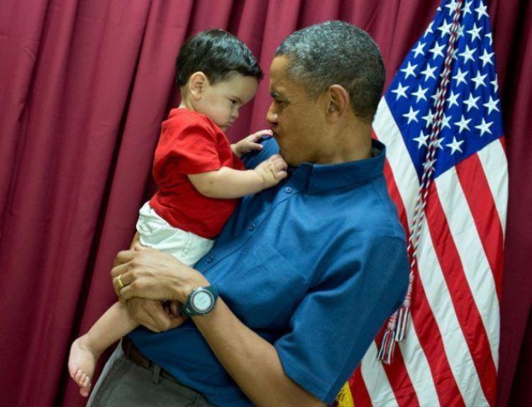 Chùm ảnh: Bên cạnh các bạn nhỏ, ngài Obama thực sự quên mất mình là một tổng thống