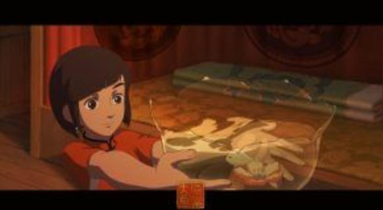Xuân - người thừa kế tộc người cá, cô bé luôn tò mò về thế giới của loài người