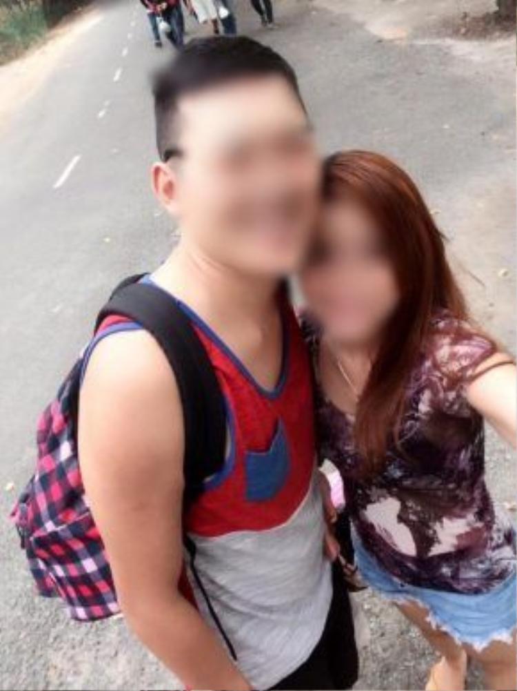 Sau sự việc trên, hai vợ chồng đã làm hòa với nhau. Ảnh: facebook.