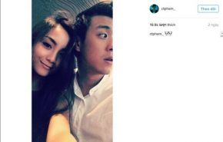 Bức ảnh mới trên Instagram của Huyme.