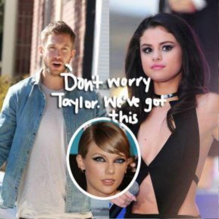 Taylor chia tay Calvin, Selena có nên tiến tới ?