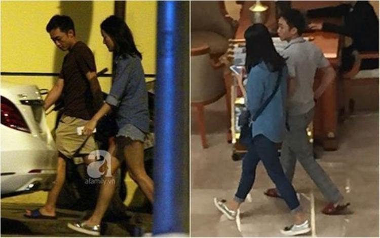 Ngày 30/10/2015, Hạ Vi bị bắt gặp tay trong tay với Cường Đô La đi ăn đêm rồi đi ăn sáng cùng nhau.