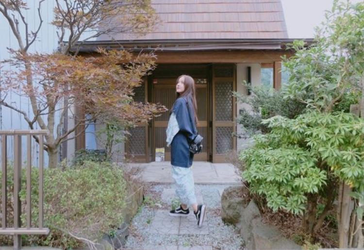 Một số hình ảnh của Phương Ly tại Nhật.