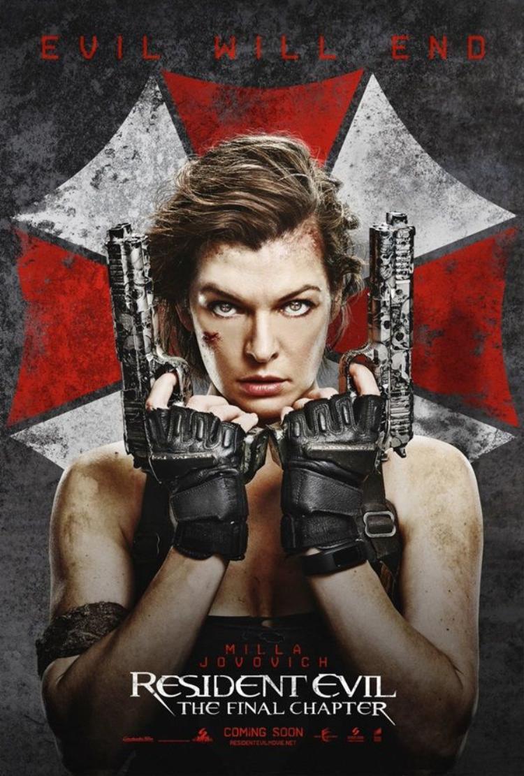 Milla Jovovich trở lại với phần cuối cùng của Resident Evil.