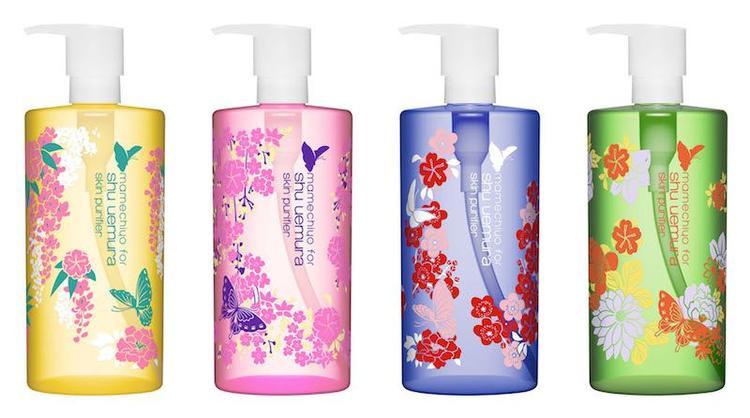 Shu Uemura Cleansing Oil có 4 loại cơ bản cho các vấn đề da khác nhau.