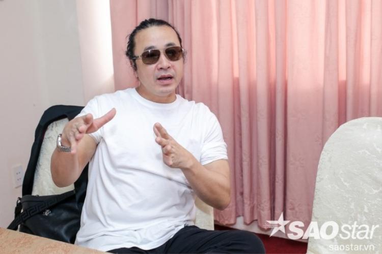Nhạc sĩ Lê Minh Sơn hào hứng chia sẻ những dự định trong ngày ghi hình thứ hai