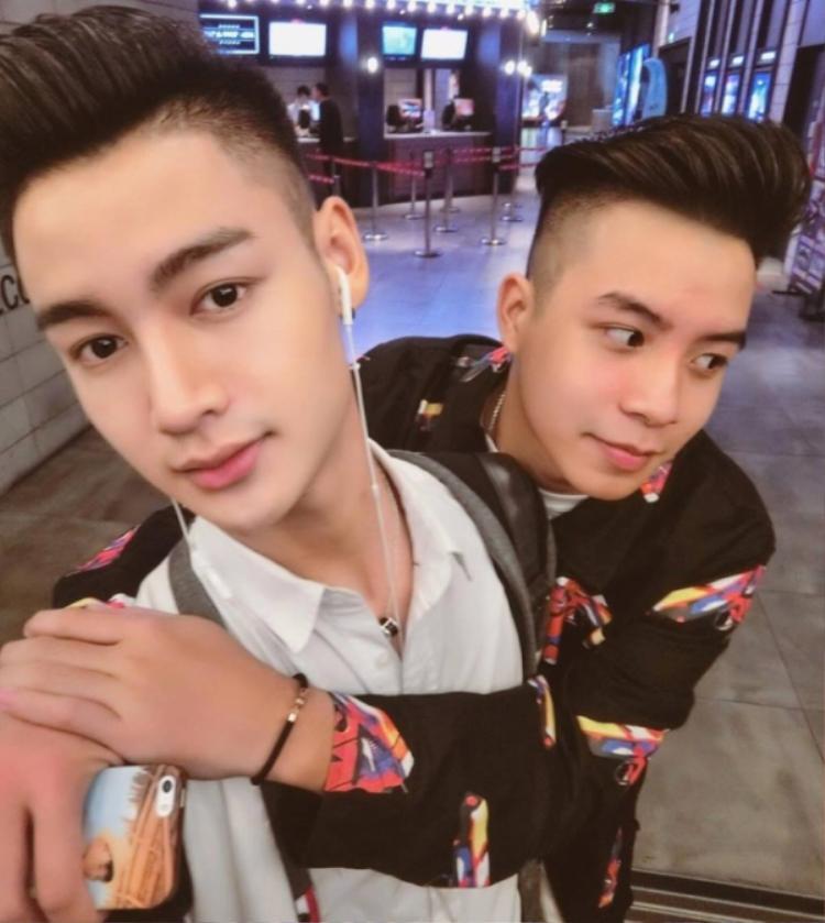 Chu Khả Hiếu (trái) và Phạm Đức Hùng (phải).