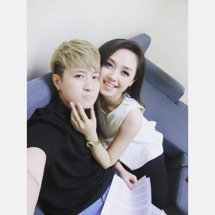 Jay Lin (trái) và Ngọc Trang (phải).