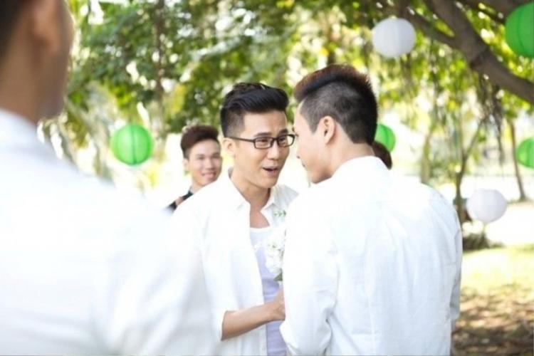 Đám cưới của hai người diễn ra vào đầu năm 2016.