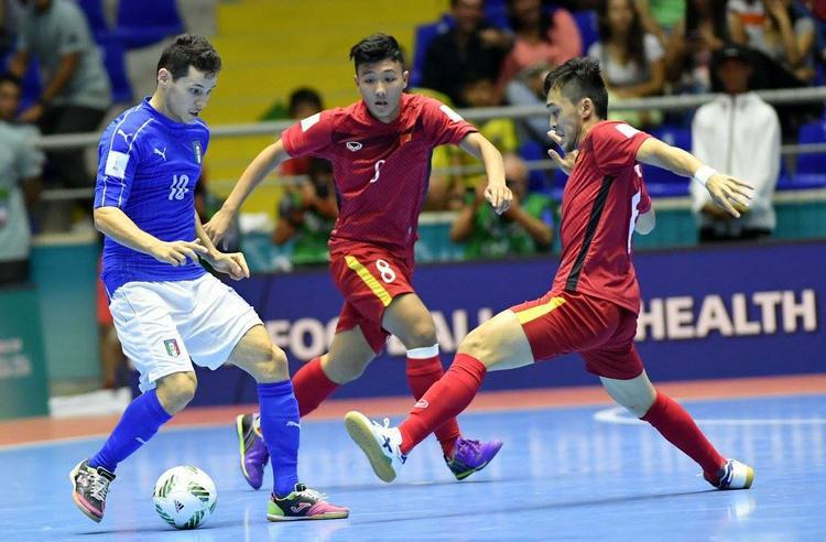 Đội tuyển Futsal Việt Namlập kỳ tích khi lọt vào vòng 1/8 World Cup 2016