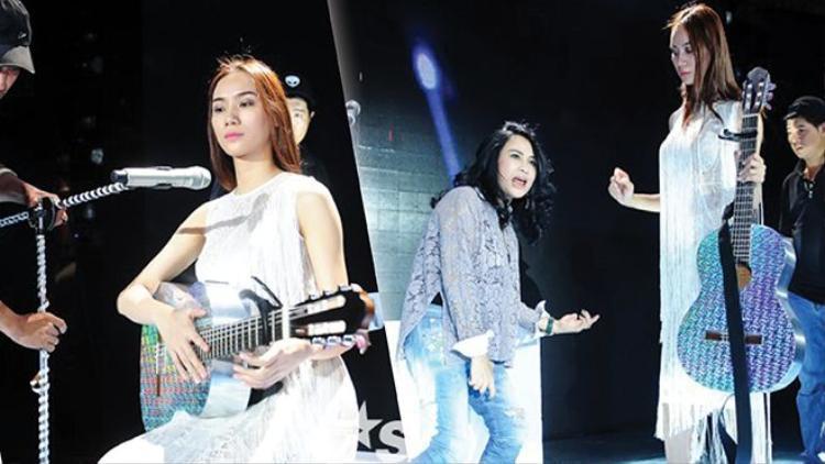 Thanh Lam hết mình với học trò Kiều Diễm tại X-Factor