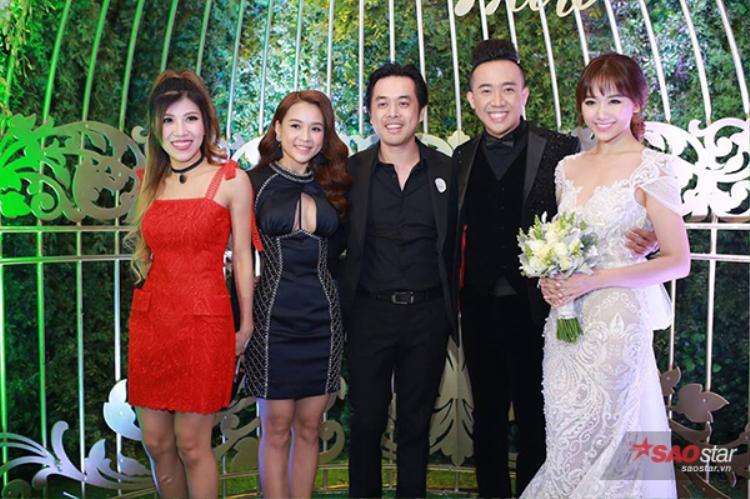 Trang Pháp, Sam, nhạc sĩ Dương Khắc Linh.