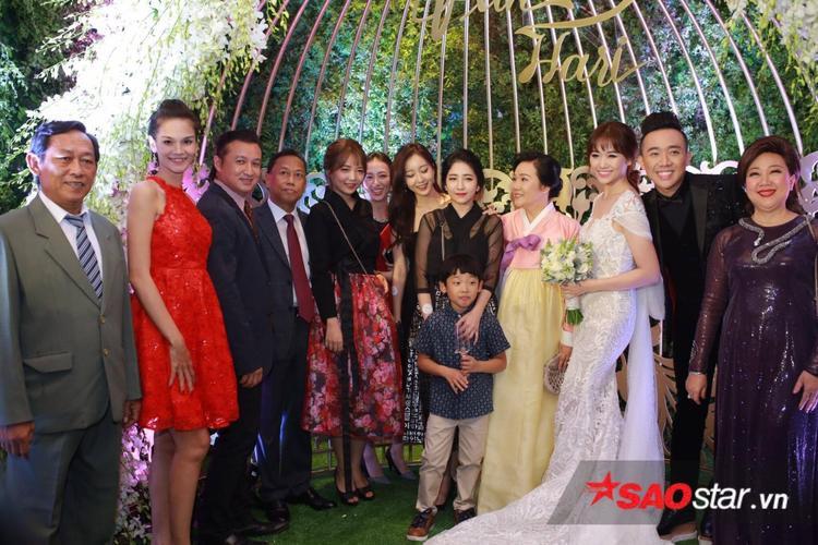Tất cả những nghệ sĩ lớn nhất Vbiz đều có mặt tại đám cưới Trấn Thành  Hari Won