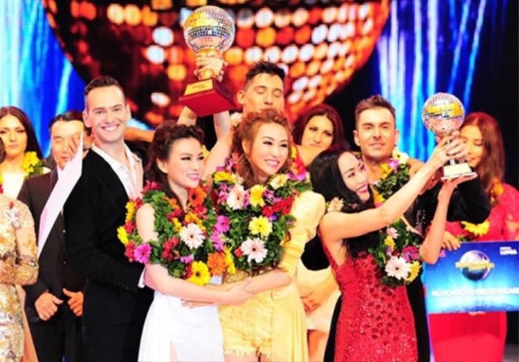 Cùng Ngân Khánh đăng quang Bước nhảy hoàn vũ 2014 như một cột mốc đang nhớ tiếp theo trong sự nghiệp của Thu Thuỷ.