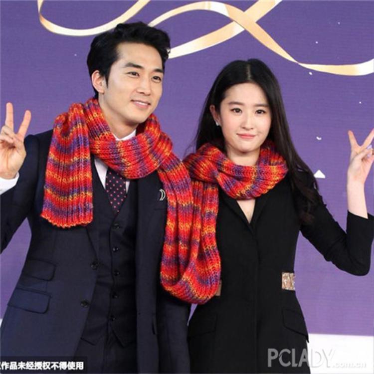 Song Seung Hun và Lưu Diệc Phi là cặp đôi Hoa - Hàn quyền lực nhất 2016.