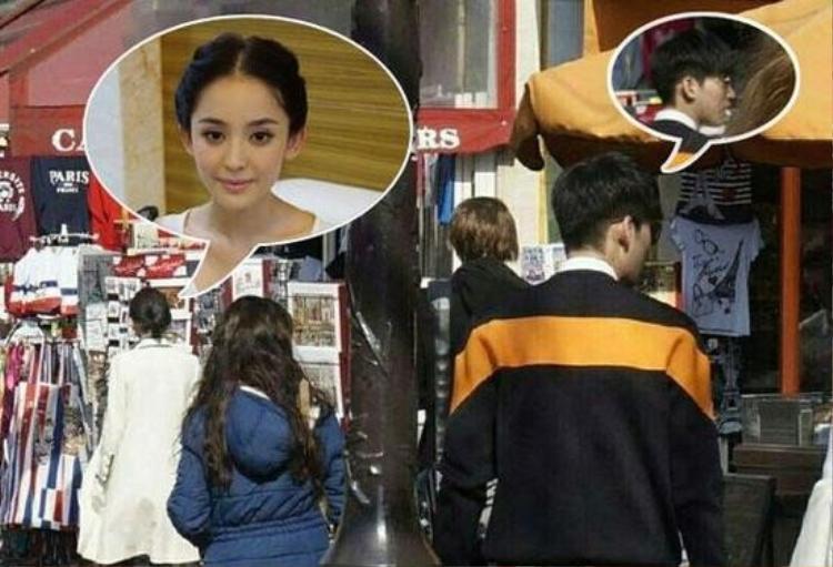Cả hai bị bắt gặp đi du lịch nước ngoài cùng nhau ít lâu sau khi Trương Hàn chia tay Trịnh Sảng.