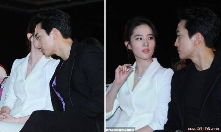 Dù một người Trung Quốc, một người Hàn Quốc nhưng Song Seung Hun và Lưu Diệc Phi vẫn dễ dàng giao tiếp với nhau nhờ…tiếng Anh.