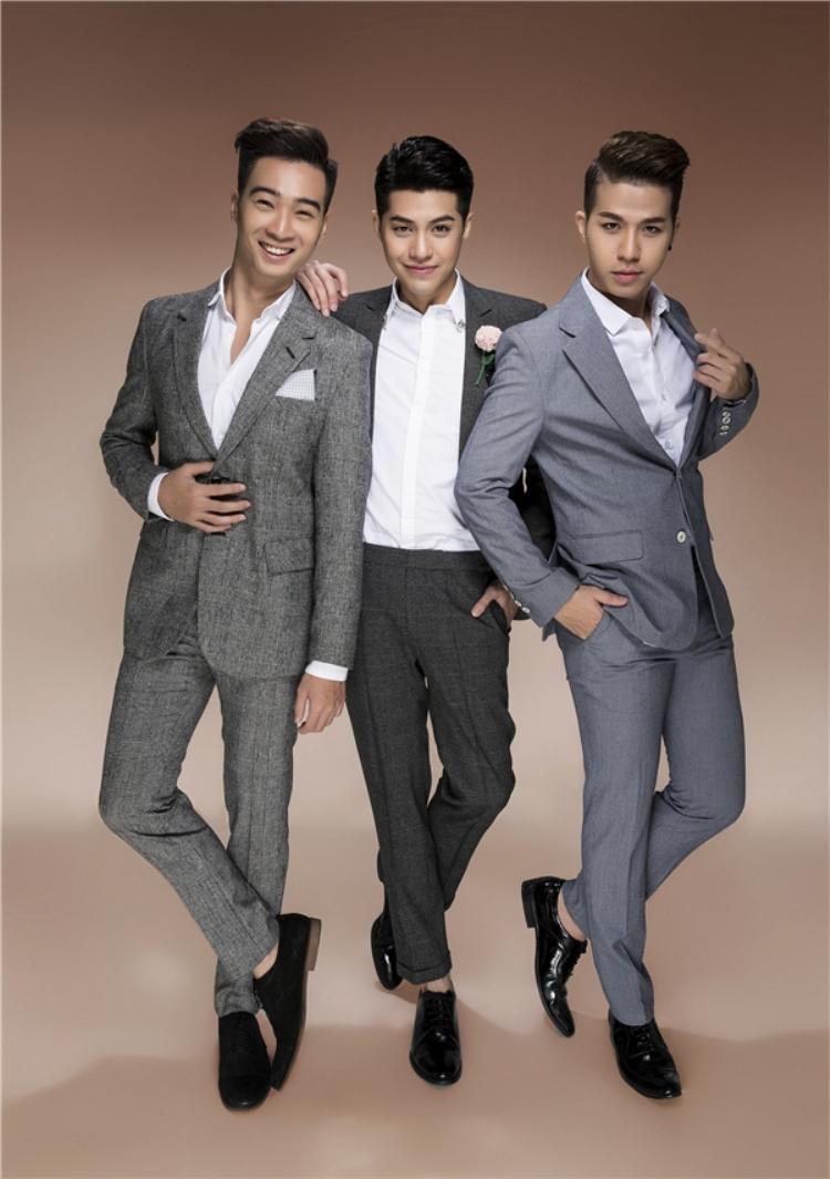 """Hồ Quang Vinh còn là một """"mẩu"""" team 07 cùng Noo Phước Thịnh, Slim V tại The Remix 2016."""