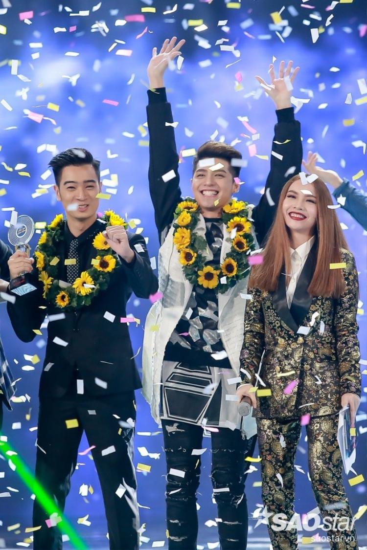 Noo Phước Thịnh chiến thắng và tỏa sáng tại The Remix 2016.