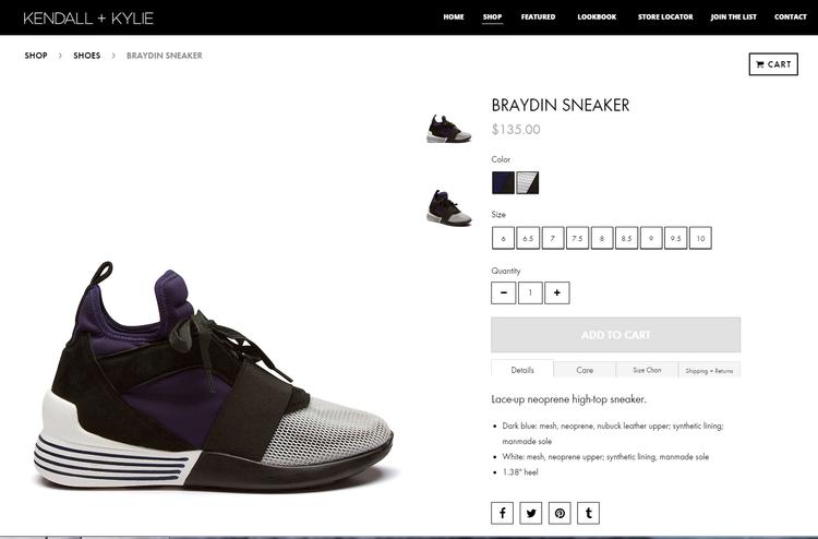 Mẫu giày này có mức giá vô cùng mềm khoảng 135 USD (3 triệu đồng).