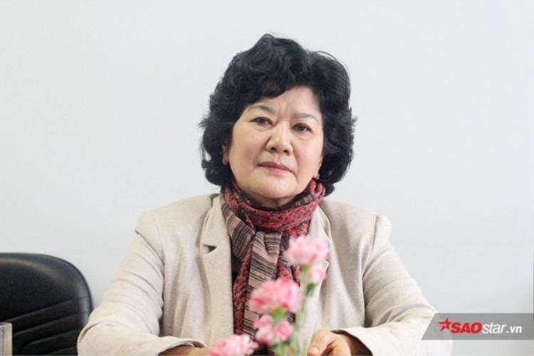 Bà Ninh Thị Hồng - Ủy viên Thường vụ, Thường trực Trung ương Hội Bảo vệ Quyền trẻ em Việt Nam.